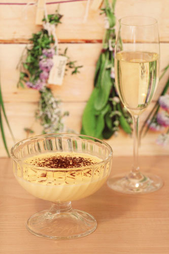 Thermomix Champagner-Creme
