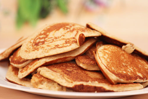 Thermomix Dinkel-Pancakes