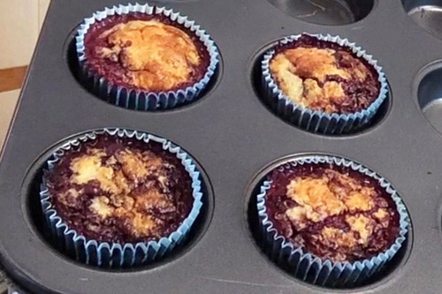Thermomix Bananen-Beeren-Muffins