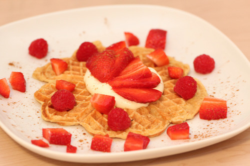 Thermomix Protein-Waffeln