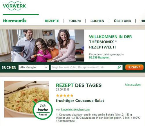 Thermomix Couscous-Salat Rezept des Tages