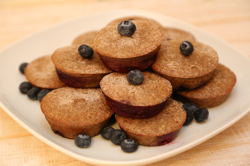 Pampered Chef Kokos-Mandel-Muffins