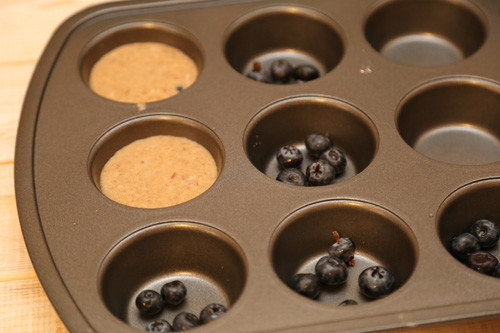 Pampered Chef Kokos-Mandel-Muffins Muffinform Deluxe