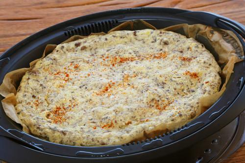 Omelette im Varomaeinlegeboden des Thermomix