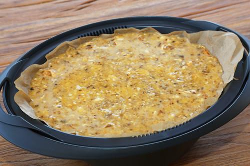 Omelettemasse im Varomaeinlegeboden